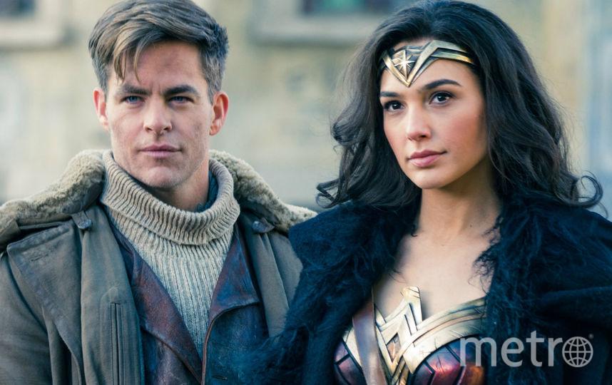 "Диана и Стив в фильме ""Чудо-женщина"". Фото Wonder Woman movie, Getty"