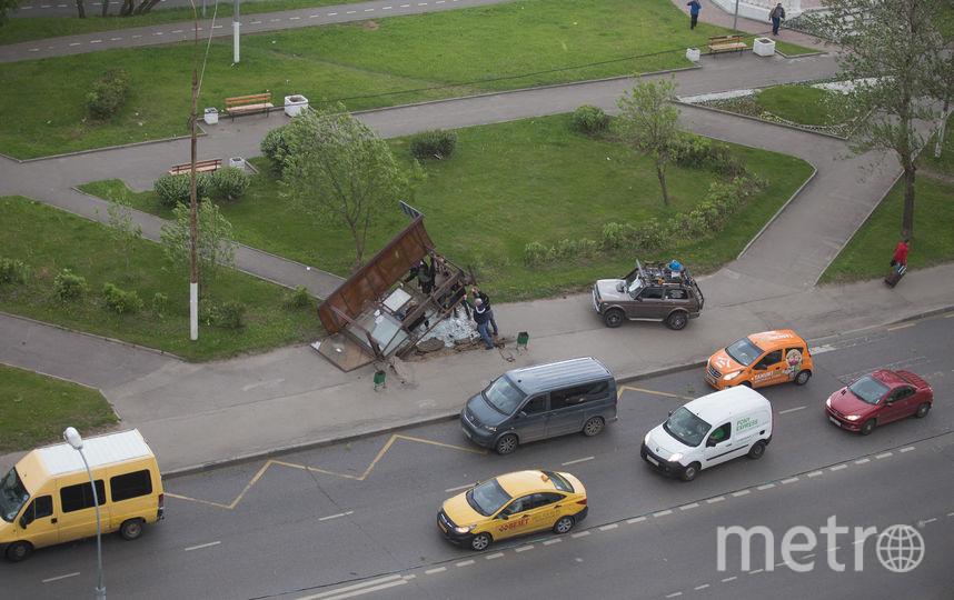 Остановка на Кировоградской. Фото предоставил Алексей Терентьев