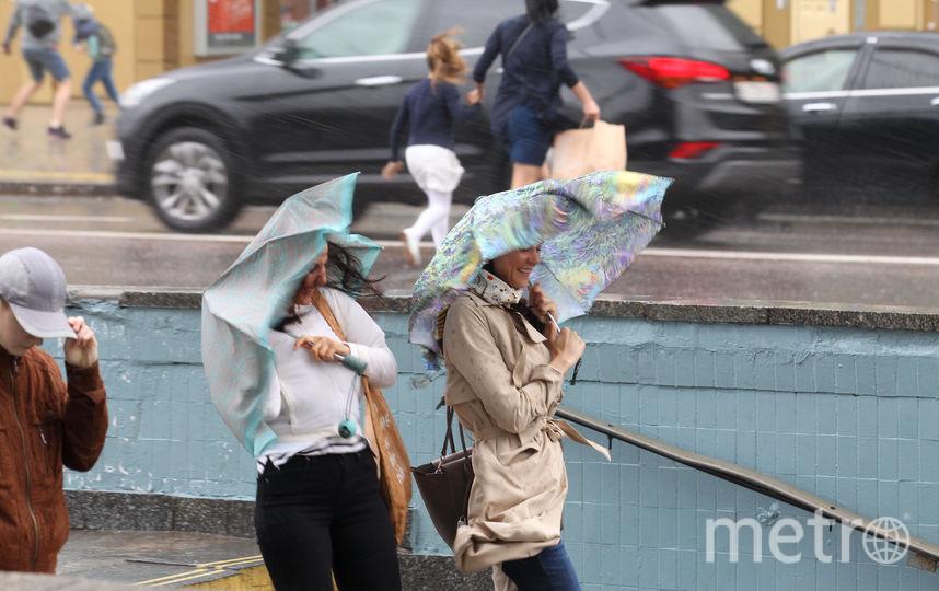 Ураган в столице. Фото Василий Кузьмичёнок