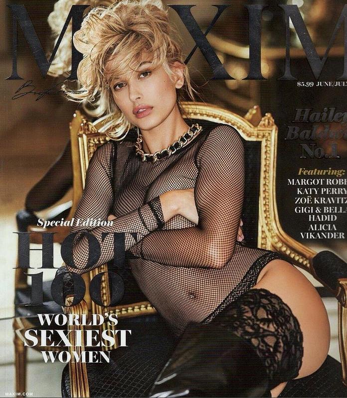 Хейли Болдуин - самая сексуальная женщина 2017 года. Фото Все- скриншот Instagram