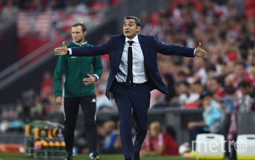 """Новый тренер """"Барселоны"""" Эрнесто Вальверде. Фото Getty"""