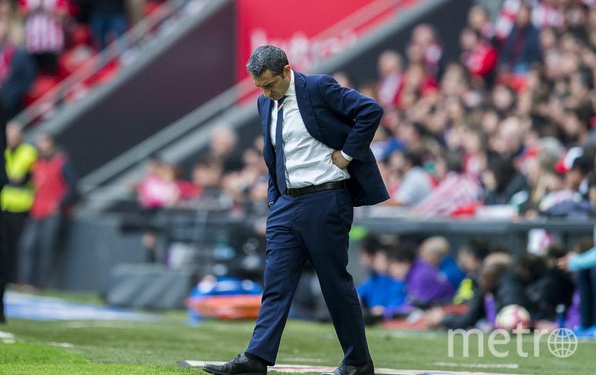 Эрнесто Вальверде стал главным тренером «Барселоны»