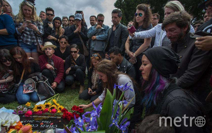 Похороны Криса Корнелла состоялись 26 мая. Фото Getty