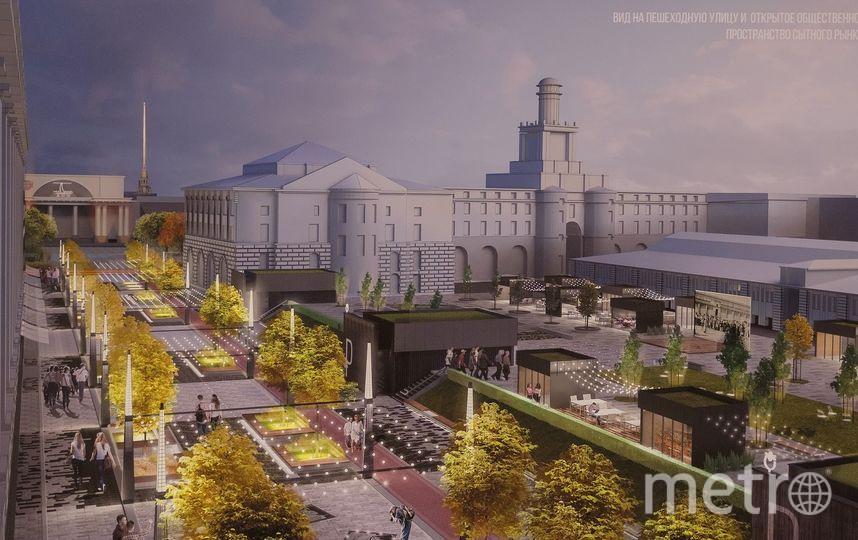 Так будет выглядеть Александровский парк, по замыслу авторов проекта | metro.