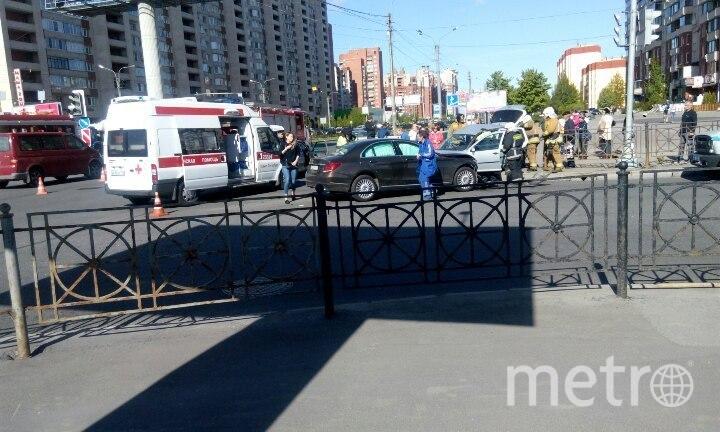 В северной столице встрашном ДТП пострадал младенец