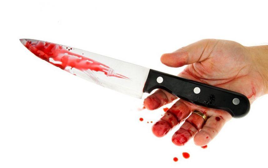 Окровавленный нож. Фото Getty