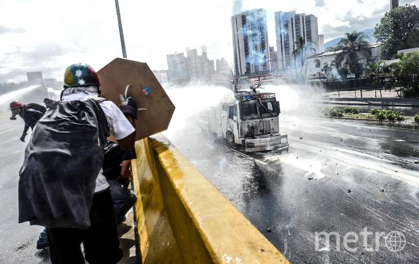 Венесуэлу вновь сотрясли протесты. Фото AFP