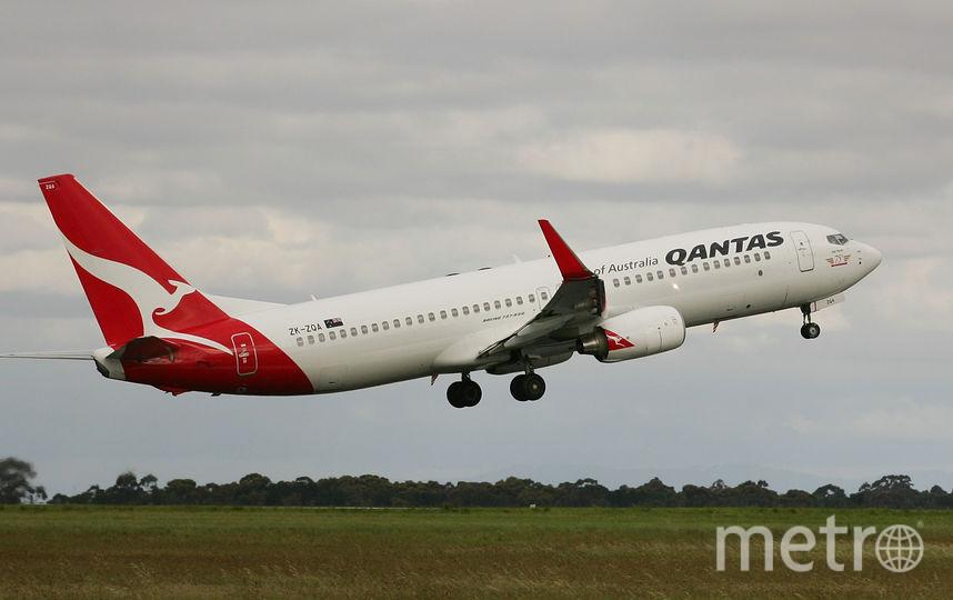 Qantas. Фото Getty