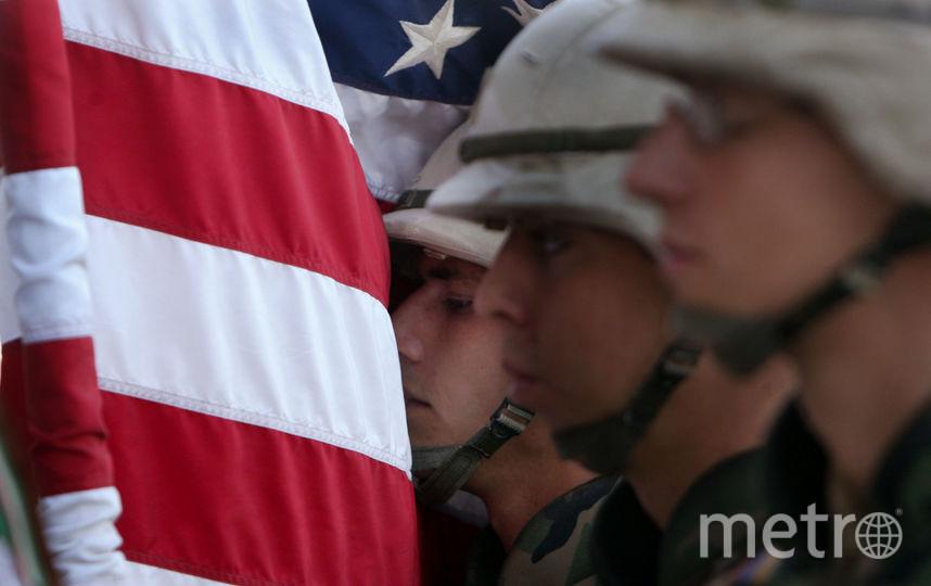 Американске военные. Фото Getty