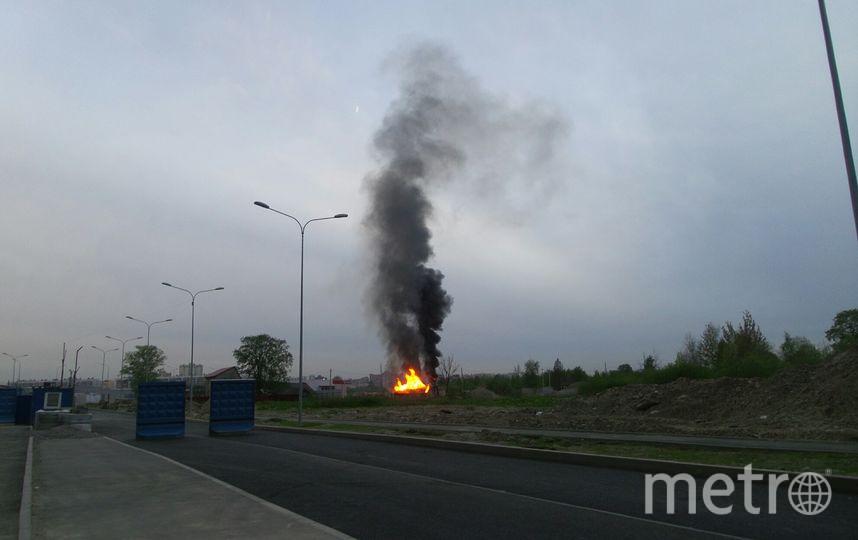 """Пожар в Кудрово 30 мая. Фото Анна Лутченкова, """"Metro"""""""