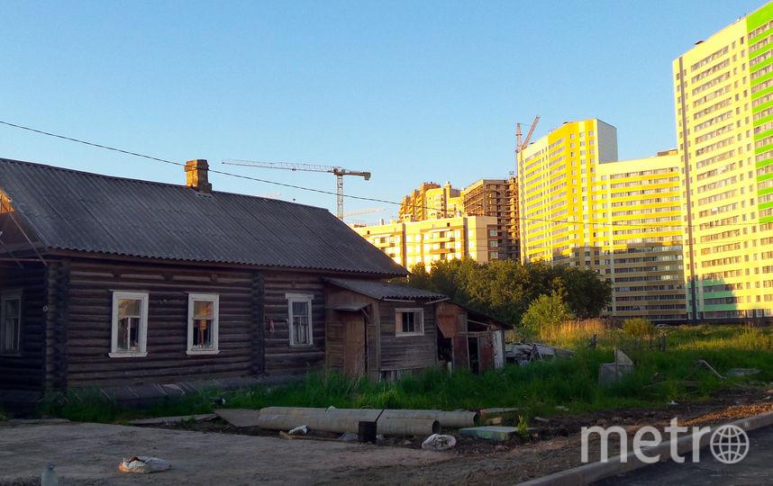 """Июнь 2016 год. Дом был уже не жилой. Фото Анна Лутченкова, """"Metro"""""""