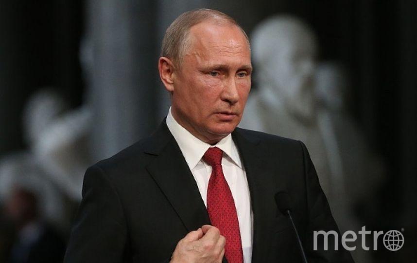 Владимир Путин. Фото Getty