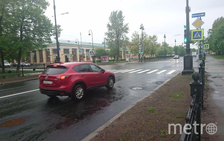 """На Васильевском острове завершился этап реконструкции тепломагистрали """"Восточная""""."""