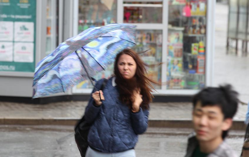 В Москве снова обещают ветер и дождь. Фото Василий Кузьмичёнок