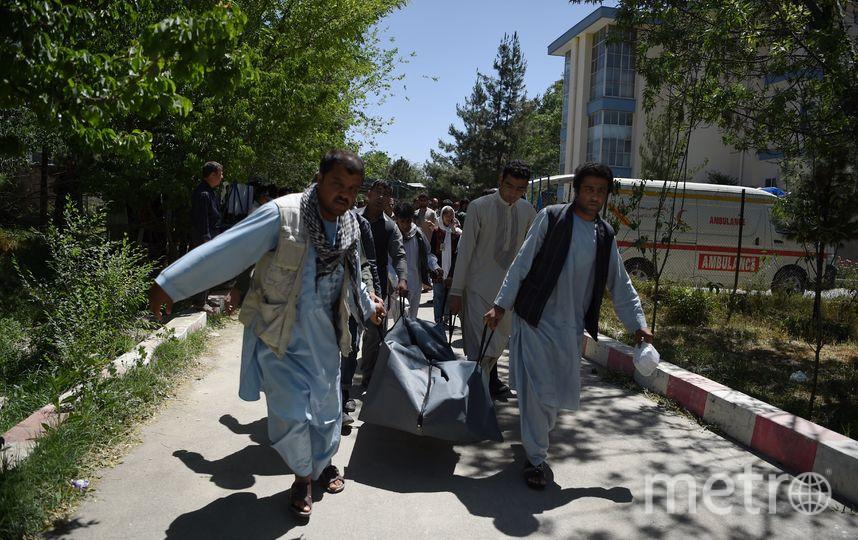 Теракт в Кабуле. Фото AFP