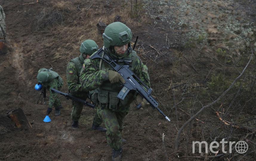 Литовские военные. Фото Getty