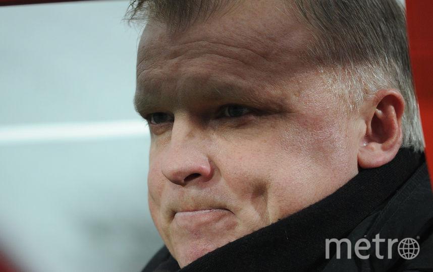 Российский тренер Сергей Кирьяков. Фото Getty