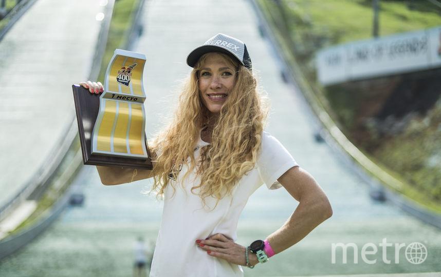 Победительница женского зачёта Екатерина Митяева. Фото redbullcontentpool.com