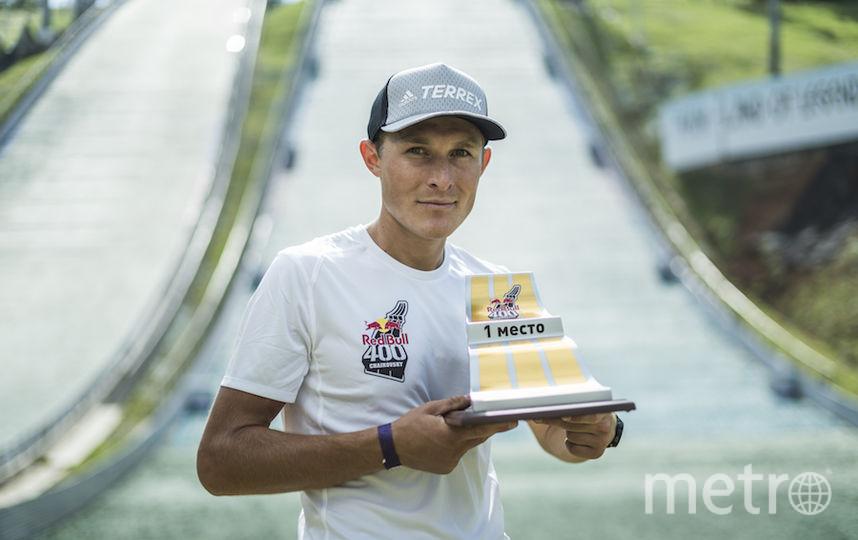 Победитель мужского зачёта Дмитрий Митяев. Фото redbullcontentpool.com