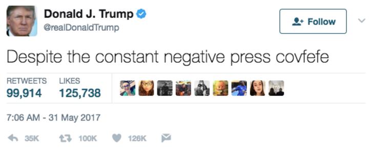 Твит Дональда Трампа. Фото Twitter
