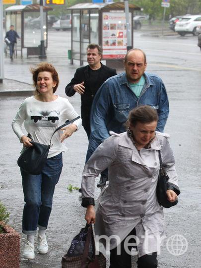 Ураган в Москве. Фото Василий Кузьмичёнок