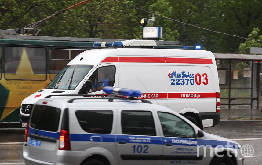 Скорая помощь. От урагана в столице 29 мая пострадали свыше 200 человек. Фото Василий Кузьмичёнок