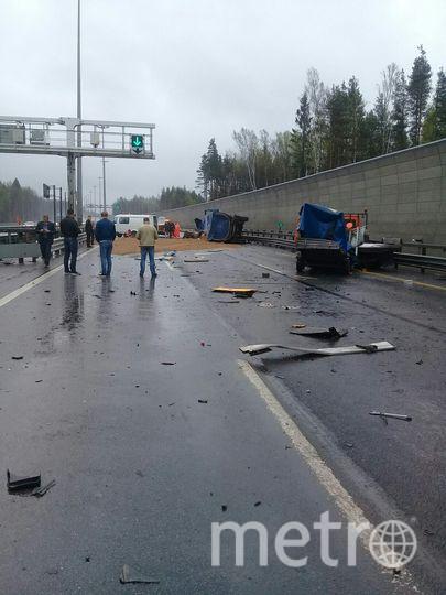 Страшное ДТП произошло на 6-ом километре ЗСД.