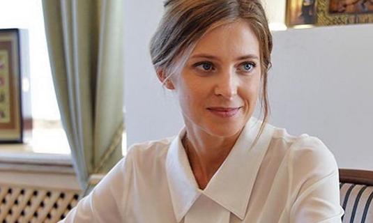 Депутат Наталья Поклонская.