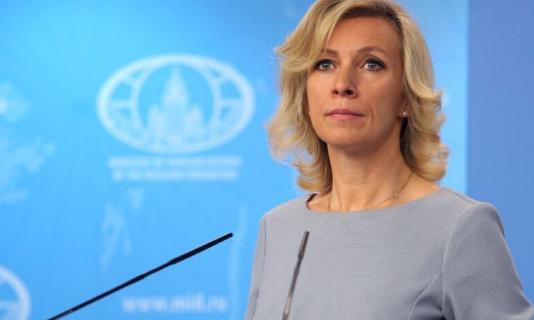 Мария Захарова, дипломат.