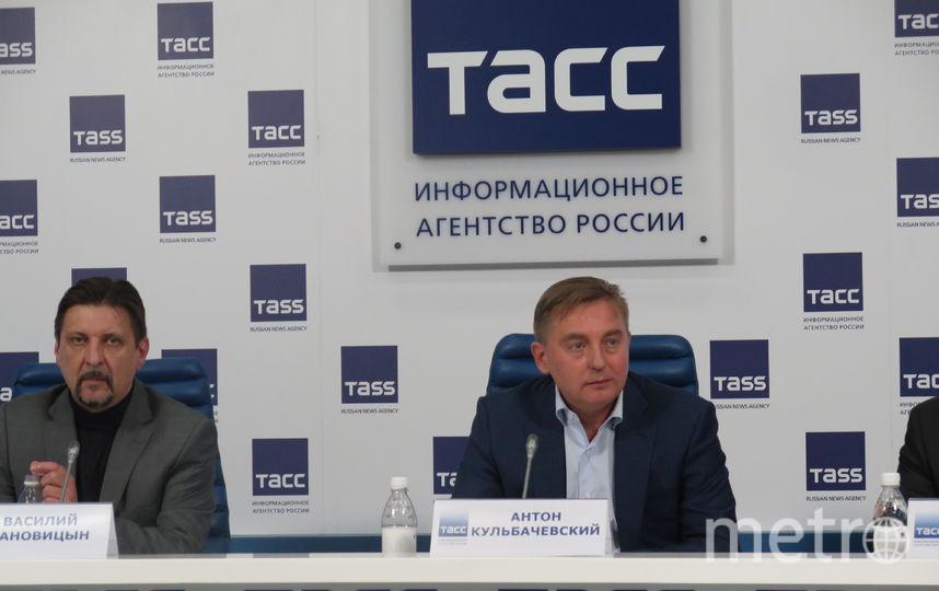Пресс-конференция. Фото Станислав Купцов