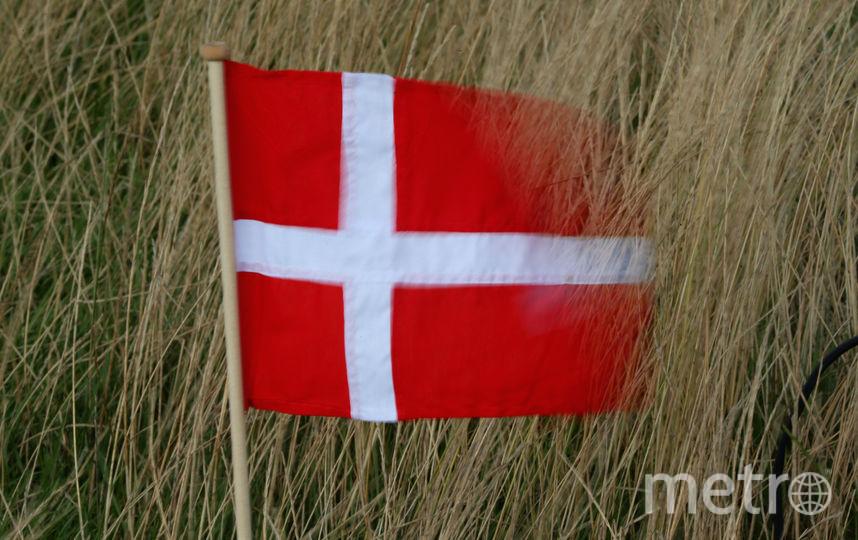 Флаг Дании. Фото Getty