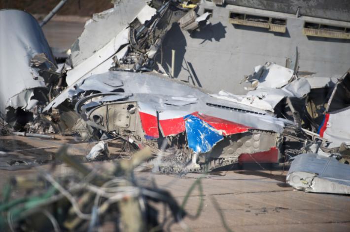 Минобороны завершило расследование крушения Ту-154. Фото РИА Новости