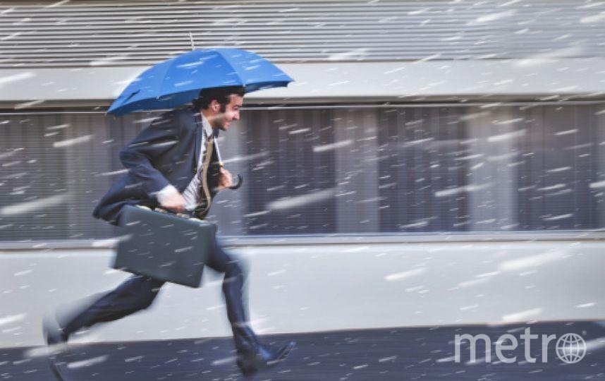 В Петербурге вероятен дождь со снегом. Фото Getty