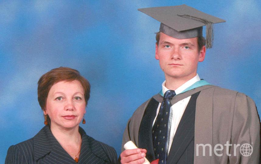 Читательница Metro Татьяна с сыном Михаилом. Фото предоставлено Татьяной.