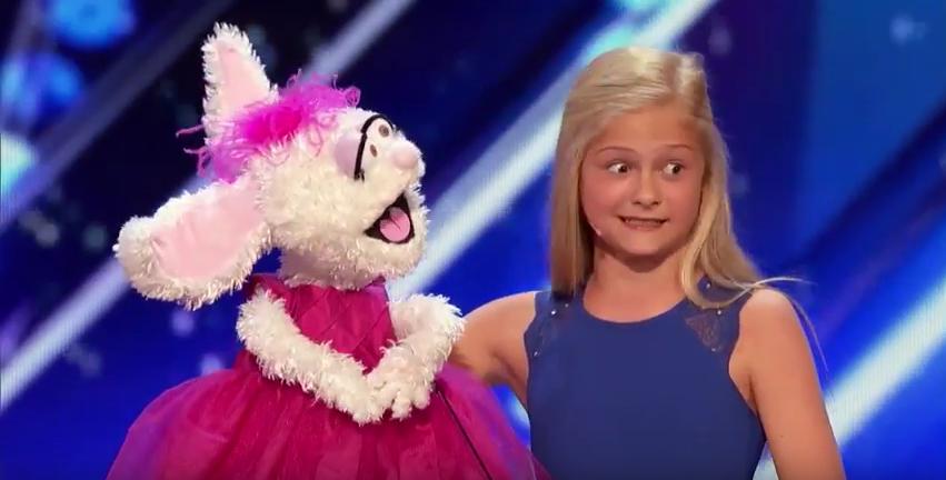 Маленькая чревовещательница покорила шоу талантов своим номером. Фото Скриншот Youtube