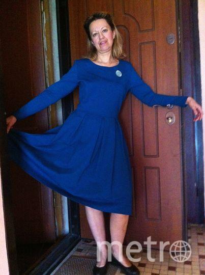 Это платье всегда приносит мне удачу,возможно потому,что я его выиграла в конкурсе одного издания,а это значит,что оно уже по определению счастливое! Куда бы я ни одела это платье на важную встречу или просто на выход- все дела в нем удаются! Фото Попова Татьяна