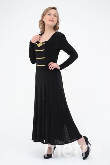 Чёрное, но не обязательно маленькое! Это элегантное вечернее платье, подарок от друзей, предназначено для танцев: на юбке несколько глубоких разрезов. Не похожее на все остальные, оно всегда производит впечатление. Когда я демонстрирую на что способно платье - восторг окружающих приносит мне счастье! Фото Светлана