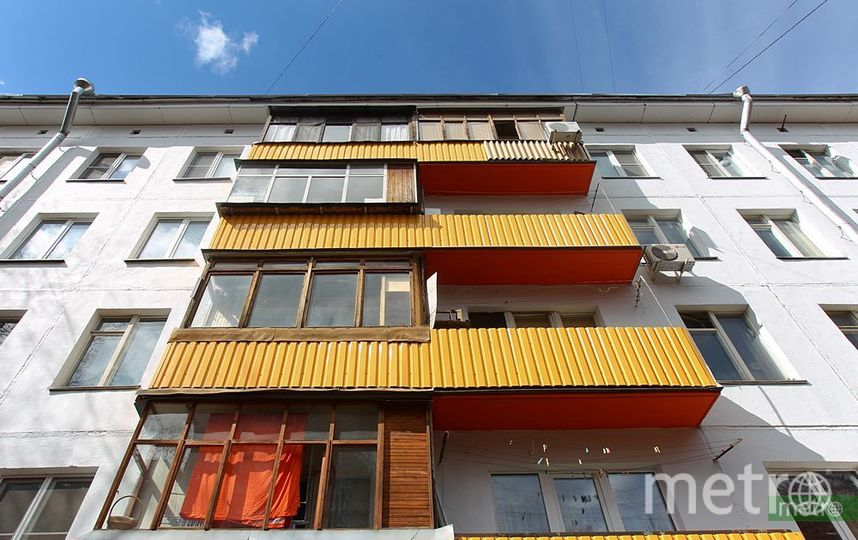 Столичная пятиэтажка. Фото Василий Кузьмичёнок