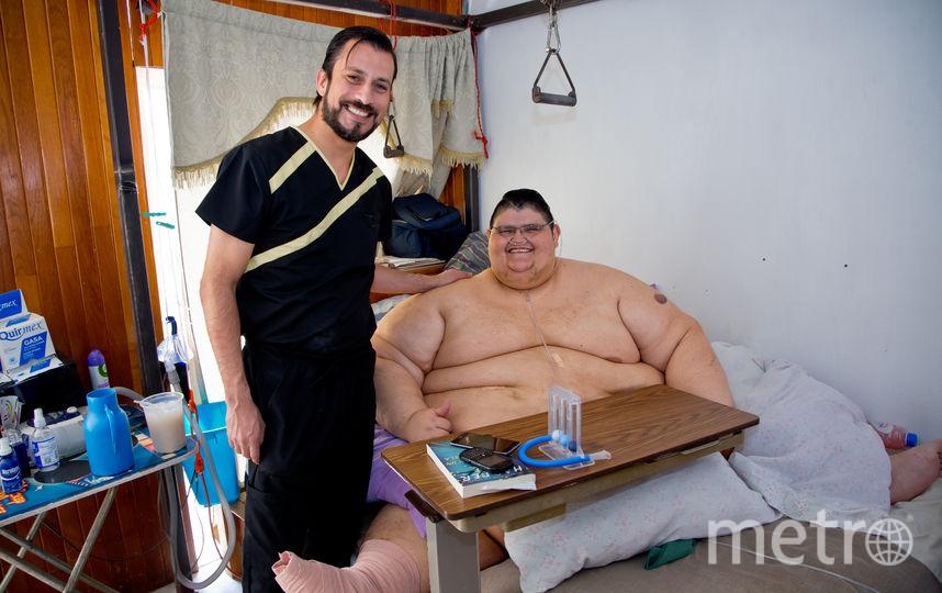 Доктор Хосе А. Кастанеда и Хуан Педро Франко Салас. Фото Antonio Rubio, Nacion Imago