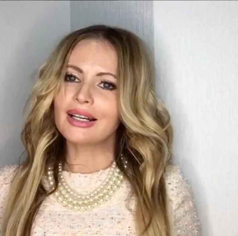 Дана Борисова - фотоархив. Фото Скриншот Instagram