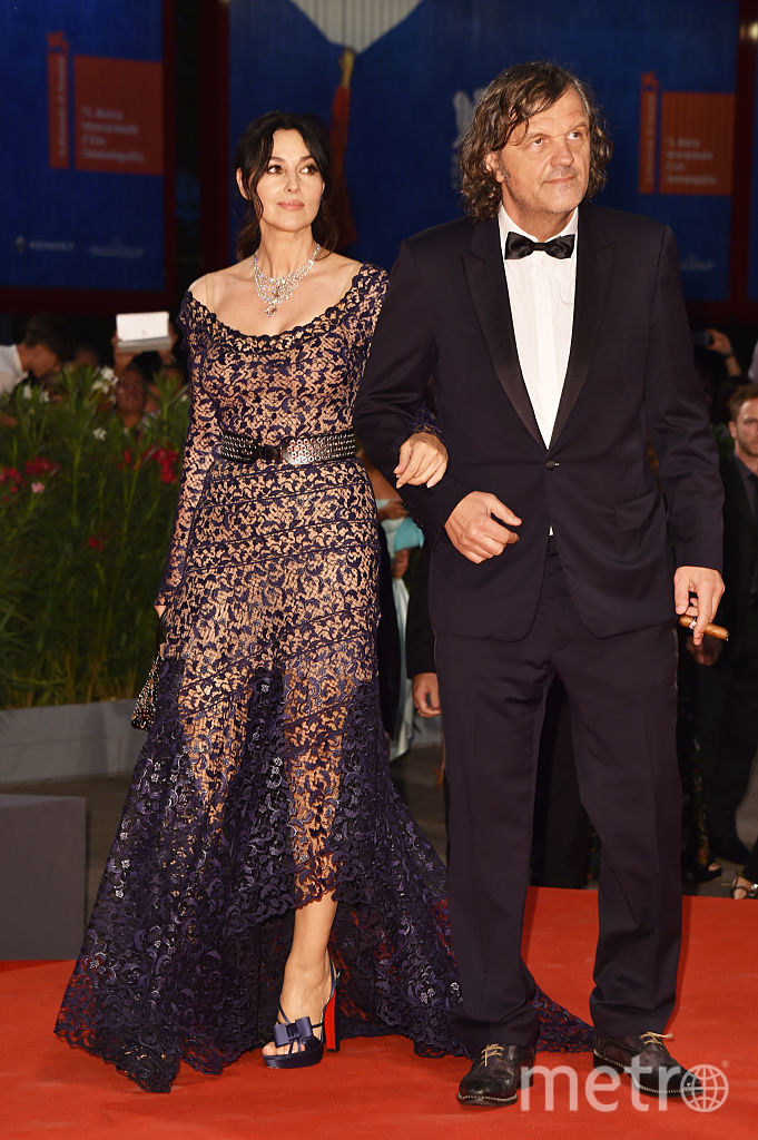 Эмир Кустурица и Моника Беллуччи. Фото Getty