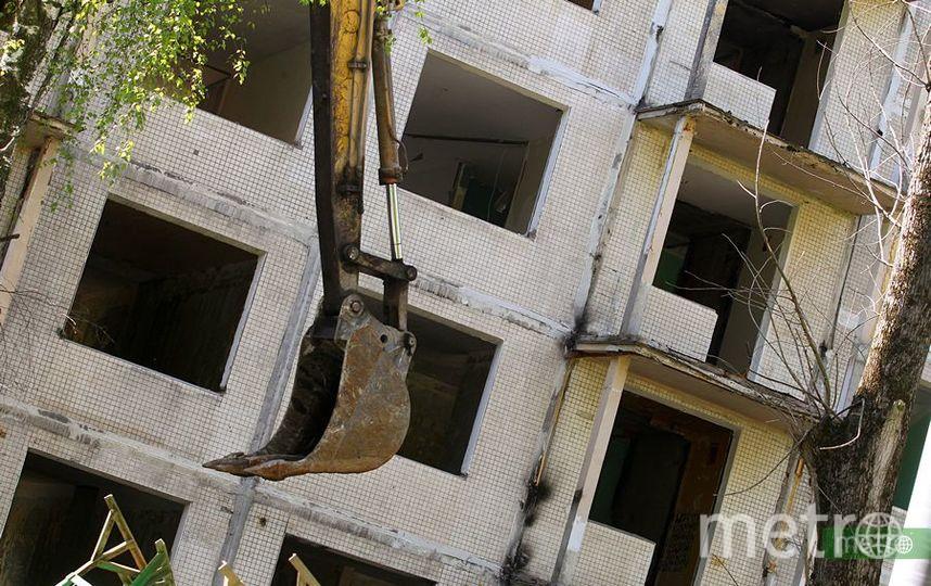 Работа по сносу пятиэтажек (архивное фото). Фото Василий Кузьмичёнок