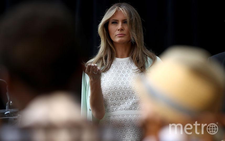 Мелания Трамп мстит брендам, отказавшимся ее одевать. Фото Getty