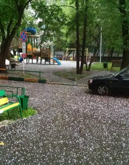 Град в Москве. Фото Instagram/ksanushka