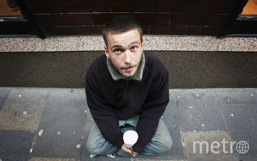 Попрошайка собрала в метро Петербурга 68 тысяч рублей. Фото Getty