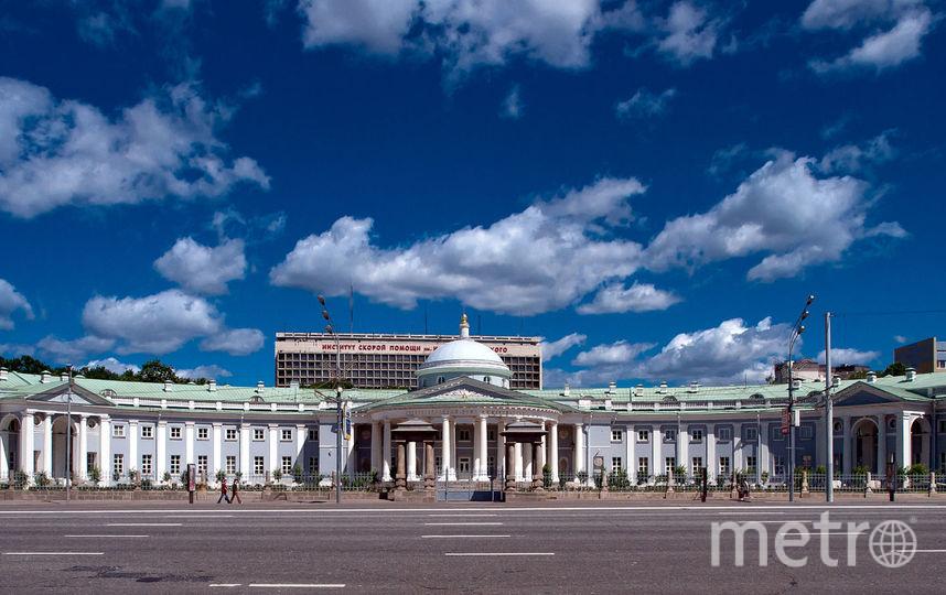 Институтс имени Склифосовского в Москве. Фото Wikipedia/NVO -