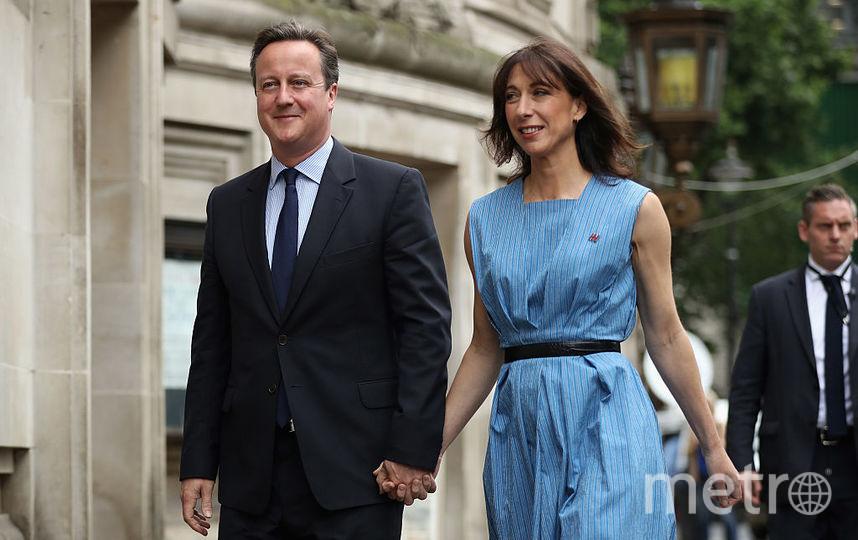 Дэвид Кэмерон с женой Самантой. Фото Getty