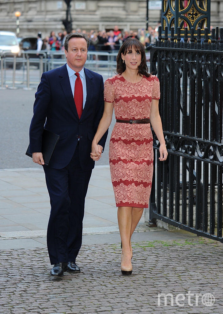Дэвид Кэмерон с женой Самантой . Фото Getty