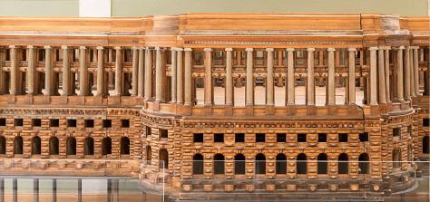 Модель Большого Кремлёвского дворца В. И. Баженова. Фото предоставлено пресс-службой