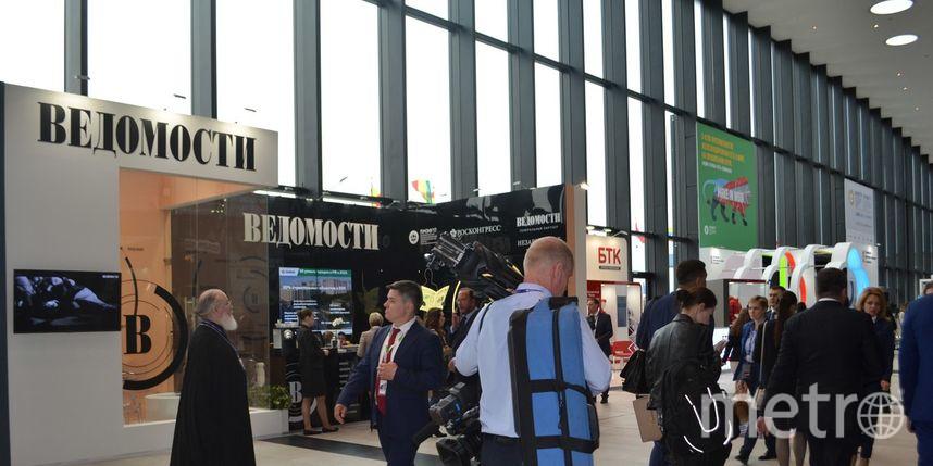 """На ПМЭФ. Фото Ольги Рябининой, """"Metro"""""""